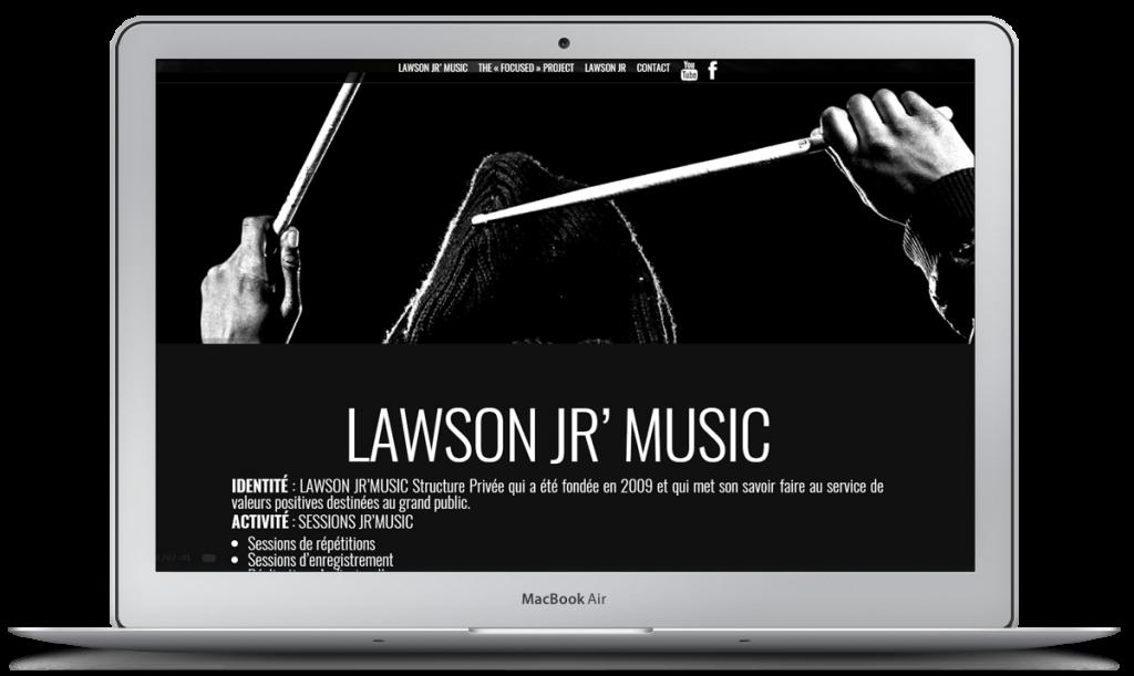 [Site web] Lawson Jr'Music - Batteur professionnel