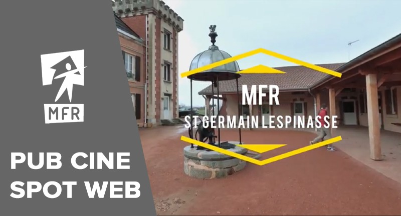Pub Cinéma pour la MFR St Germain Lespinasse