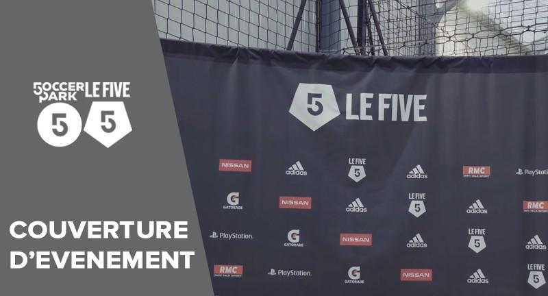 video couverture d'événement pour l'inauguration Le Five Paris 13ème