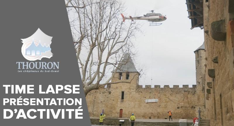 [Présentation d'activité - Time Lapse] Thouron - Les chapiteaux du Sud-Ouest